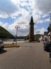 Fährturm am Mosel Radweg in Hatzenport