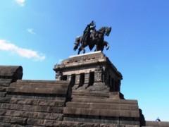 Kaiser-Wilhelm-Denkmal am Deutschen Eck in Koblenz